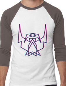 3D THEBEARDEDHOMO Men's Baseball ¾ T-Shirt