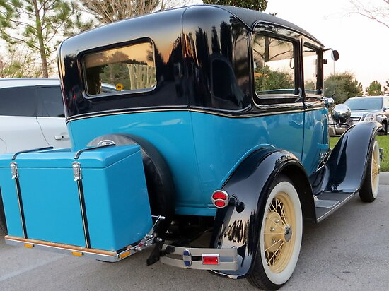 """1931 """"Model A"""" Ford by AuntDot"""