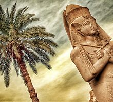 Egyptian Statue by Scott Anderson