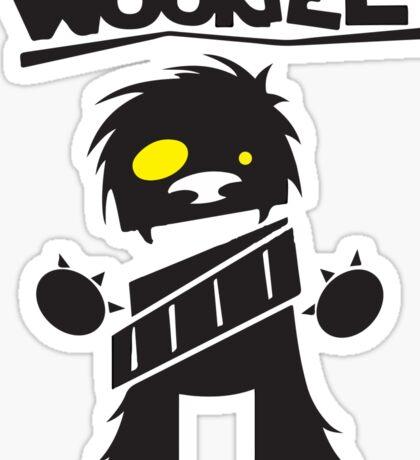 Wookie Sticker