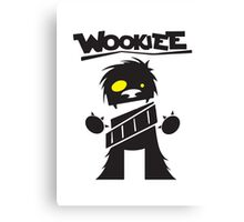 Wookie Canvas Print