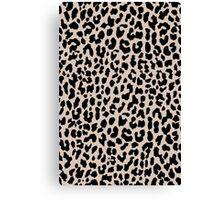 Tan Leopard Canvas Print
