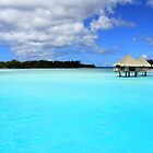 Blue Blue - Bora Bora  by Honor Kyne