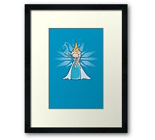 The Ice Queen Framed Print