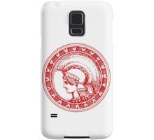 Athena/Minerva - red Samsung Galaxy Case/Skin