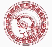 Athena/Minerva - red Kids Tee