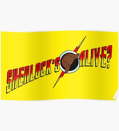 Sherlock's Alive? Poster