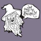 The Hobbit - Gandalf - Beard! by thekinginyellow
