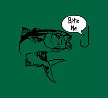 Trout Fishing Bite Me Unisex T-Shirt