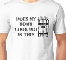 Does my BOMB look good in this? Unisex T-Shirt