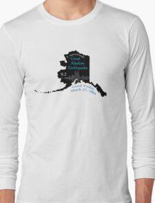 """I SURVIVED"" GREAT ALASKAN EARTHQUAKE Long Sleeve T-Shirt"