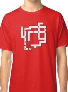 Pokemon Kanto Map, Red Blue Yellow Classic T-Shirt
