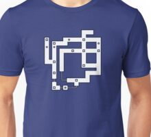 Pokemon Kanto Map, Red Blue Yellow Unisex T-Shirt