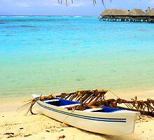 Tahitian Boat by Honor Kyne