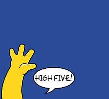 High five! by moritzstork