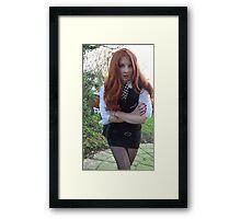 Amy Pond (The Eleventh Hour 2)  Framed Print