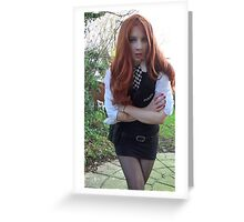 Amy Pond (The Eleventh Hour 2)  Greeting Card