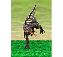 Dinosaur Aucasaurus Photographic Print