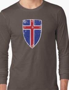 Flag of Iceland Long Sleeve T-Shirt