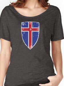 Flag of Iceland Women's Relaxed Fit T-Shirt