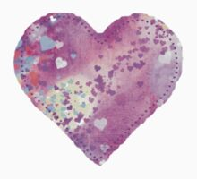 Quilted Heart Sticker TShirts & Hoodies by Mariannne Campolongo