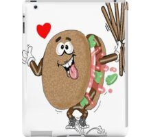 HAMBURGER CARTOON TABLET CASE iPad Case/Skin