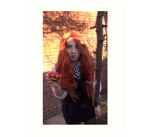 Amy Pond (The Eleventh Hour 3)  Art Print