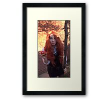 Amy Pond (The Eleventh Hour 3)  Framed Print