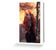 Amy Pond (The Eleventh Hour 3)  Greeting Card