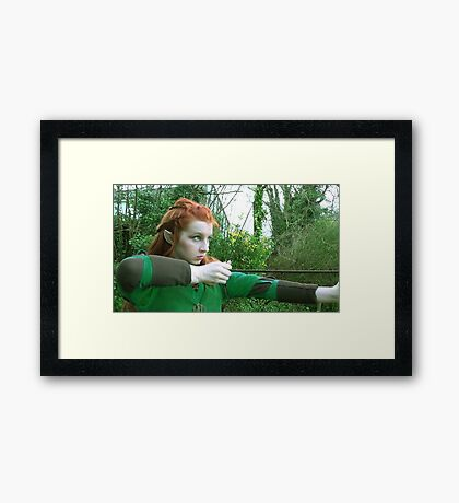 Tauriel - (The Hobbit Cosplay) Framed Print