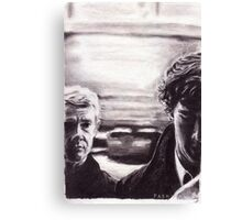 Sherlock: I don't have friends, I've just got one Canvas Print