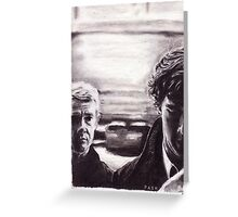 Sherlock: I don't have friends, I've just got one Greeting Card