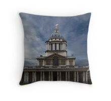 Greenwich buildings 1 Throw Pillow