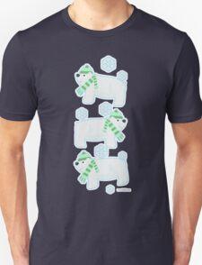 Three Cute Polar Bears T-Shirt