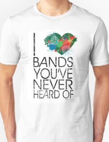I Love Obscure Bands T-Shirt
