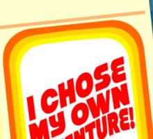 I Chose My Own Adventure! Sticker