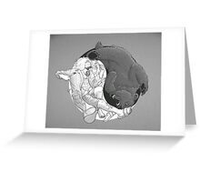 Sometimes you eat the bear... Greeting Card
