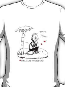 Smells Like Invisible Girl Valentine T-Shirt