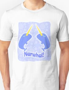 Double Narwhal Unisex T-Shirt
