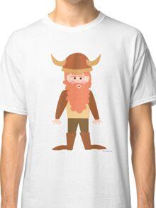 Cartoon Viking Classic T-Shirt