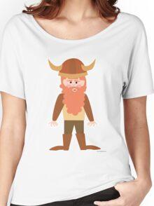 Cartoon Viking Women's Relaxed Fit T-Shirt