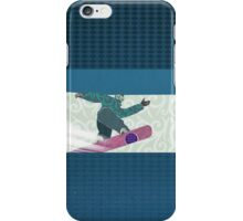 Snowboarding iPhone Case/Skin