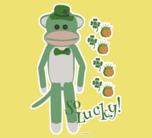 So Lucky Sock Monkey Kids Clothes