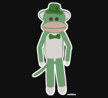 Saint Patrick's Day Sock Monkey Kids Clothes
