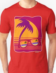 Sunglasses at Sunset Unisex T-Shirt
