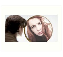 Amy Pond (The Girl Who Waited Cosplay)  Art Print