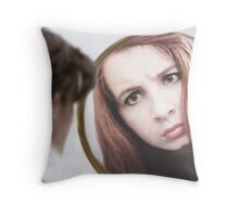 Amy Pond (The Girl Who Waited Cosplay)  Throw Pillow