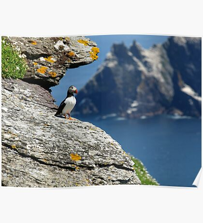 skellig michael county kerry ireland star wars Poster