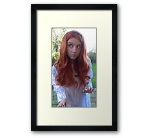 Amy Pond (The Beast Below Cosplay) Framed Print