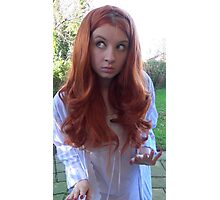 Amy Pond (The Beast Below Cosplay) Photographic Print